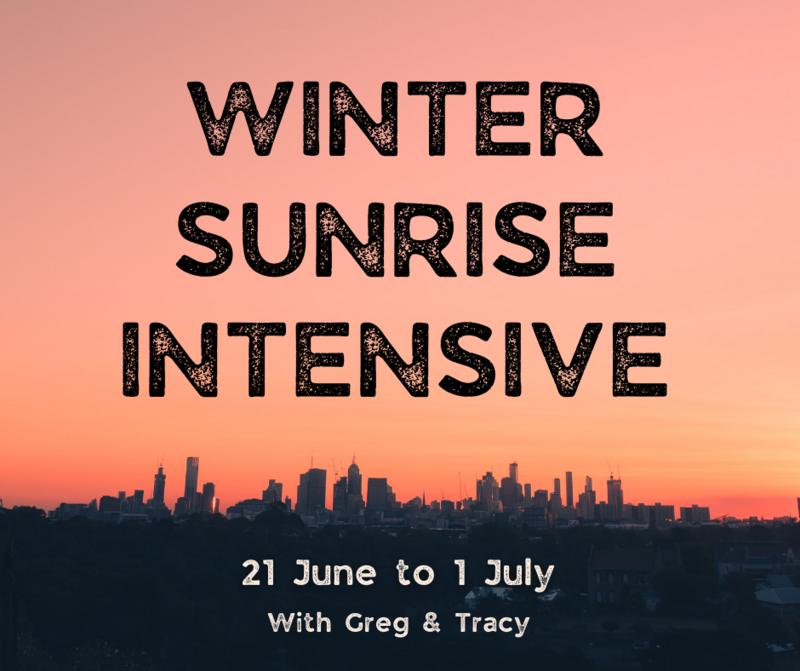 Winter Sunrise Intensive - Week 2