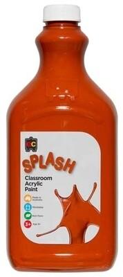 Splash Classroom Acrylic 2L Choc Fudge (Brown)