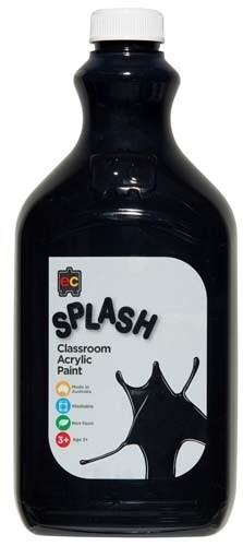 Splash Classroom Acrylic 2L Licorice (Black)