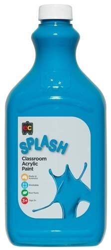 Splash Classroom Acrylic 2L Peppermint (Turquoise)