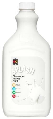 Splash Classroom Acrylic 2L Snowball (White)