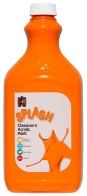 Splash Classroom Acrylic 2L Tangy (Orange)