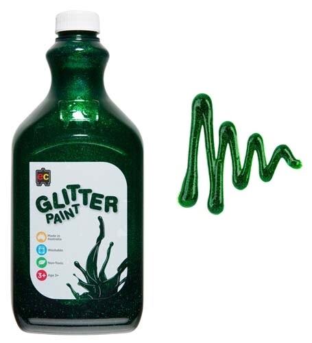 Glitter Paint 2L Green