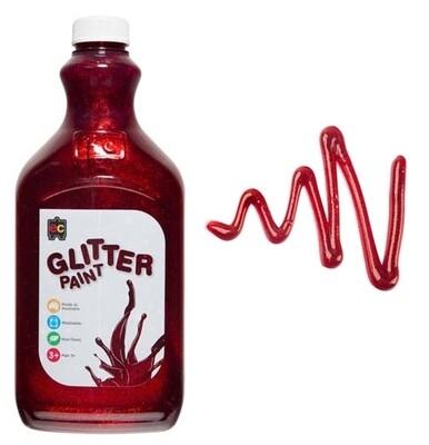 Glitter Paint 2L Red