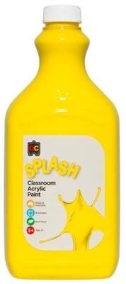 Splash Classroom Acrylic 2L Sunshine (Yellow)