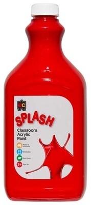 Splash Classroom Acrylic 2L Toffee Apple (Red)