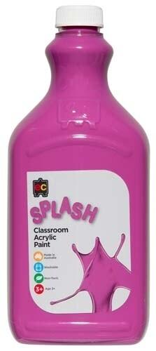 Splash Classroom Acrylic 2L Violet Crunch (Lilac)