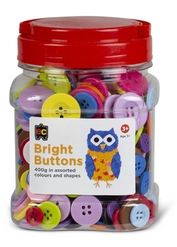Bright Buttons Assorted Jar 400gm