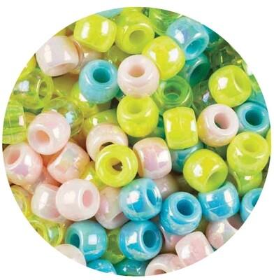 Pony Beads Pearl Colours 1000pcs