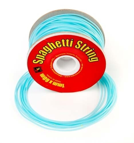 Spaghetti String Glitter Pale Blue