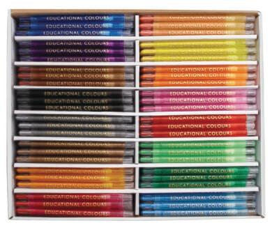 Twist-it Crayons School Pack 240pc