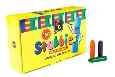 Stubbies Crayons 160 pc