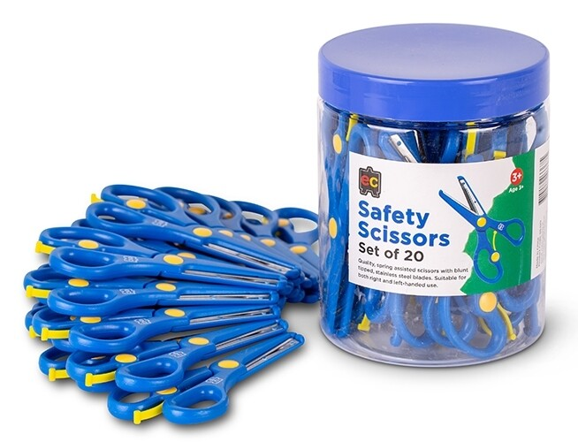 Safety Scissors. Tub of 20