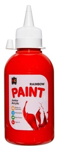 Rainbow 250ml Brilliant Red