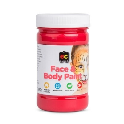 Face Paint 175ml Red