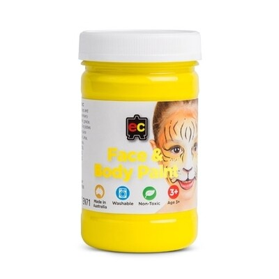 Face Paint 175ml Yellow