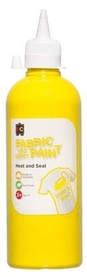 Fabric & Craft Paint 500 ml Yellow