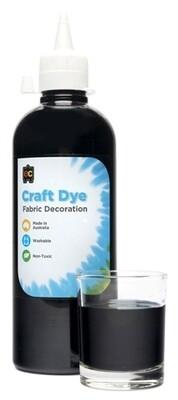 Craft Dye 500ml Black