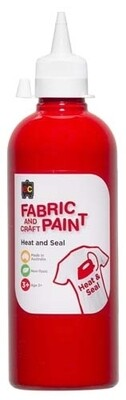Fabric & Craft Paint 500 ml Red