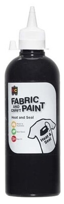 Fabric & Craft Paint 500 ml Black