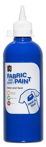 Fabric & Craft Paint 500 ml Blue