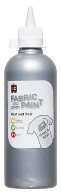 Fabric & Craft Paint 500 ml Silver