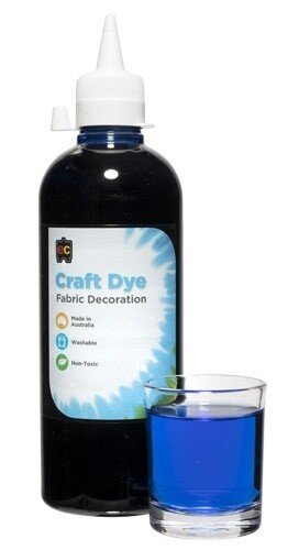 Craft Dye 500ml Blue