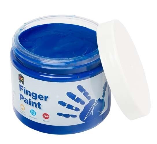 Finger Paint 250ml Blue