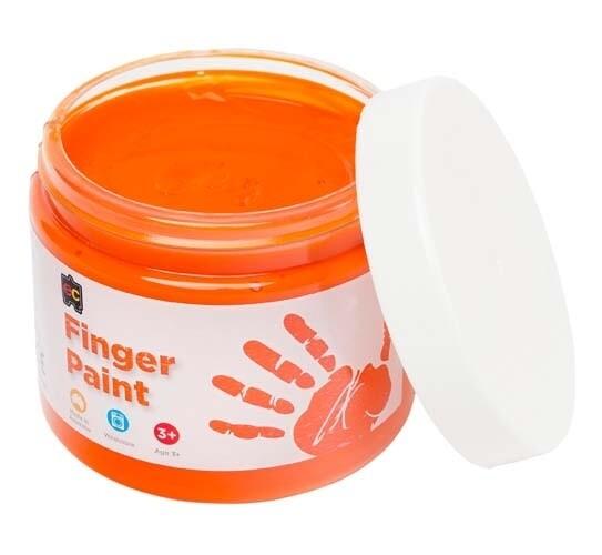 Finger Paint 250ml Orange