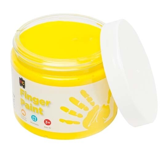 Finger Paint 250ml Yellow