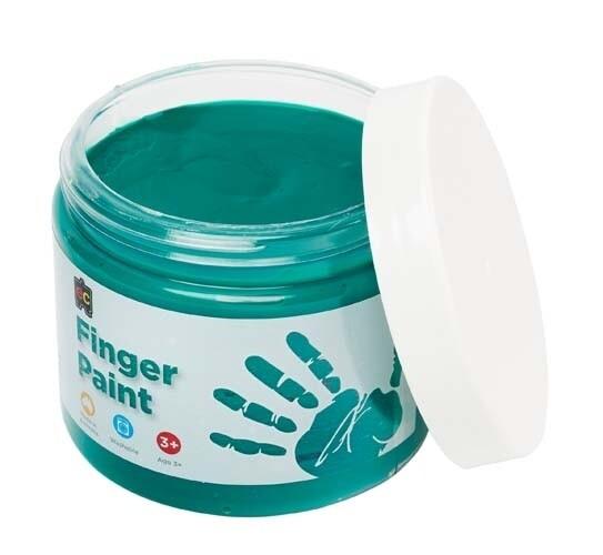 Finger Paint 250ml Green