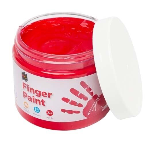 Finger Paint 250ml Red