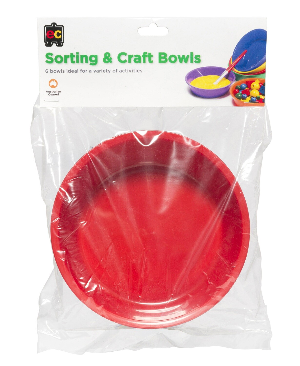 Sorting and Craft Bowls Hangsel Set of 6
