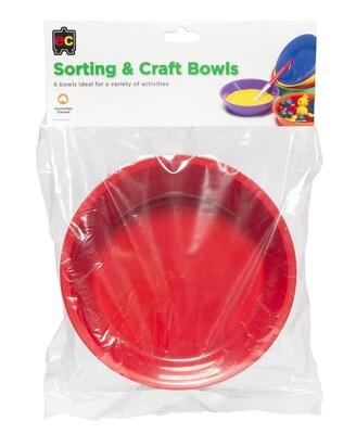 Sorting and Craft Bowls Hangsel Set of 6