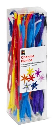 Chenille Stems Bumps 30cm Packet 200