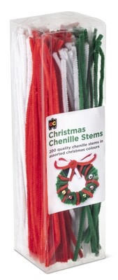 Christmas Chenille Stems