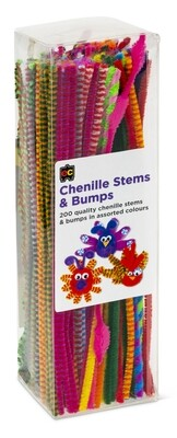 Chenille Stems Standards and Bumps 30cm Packet 200