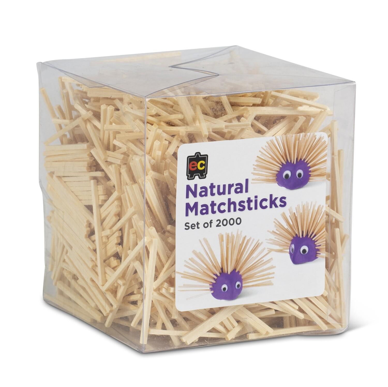 Matchsticks Natural Packet 2000
