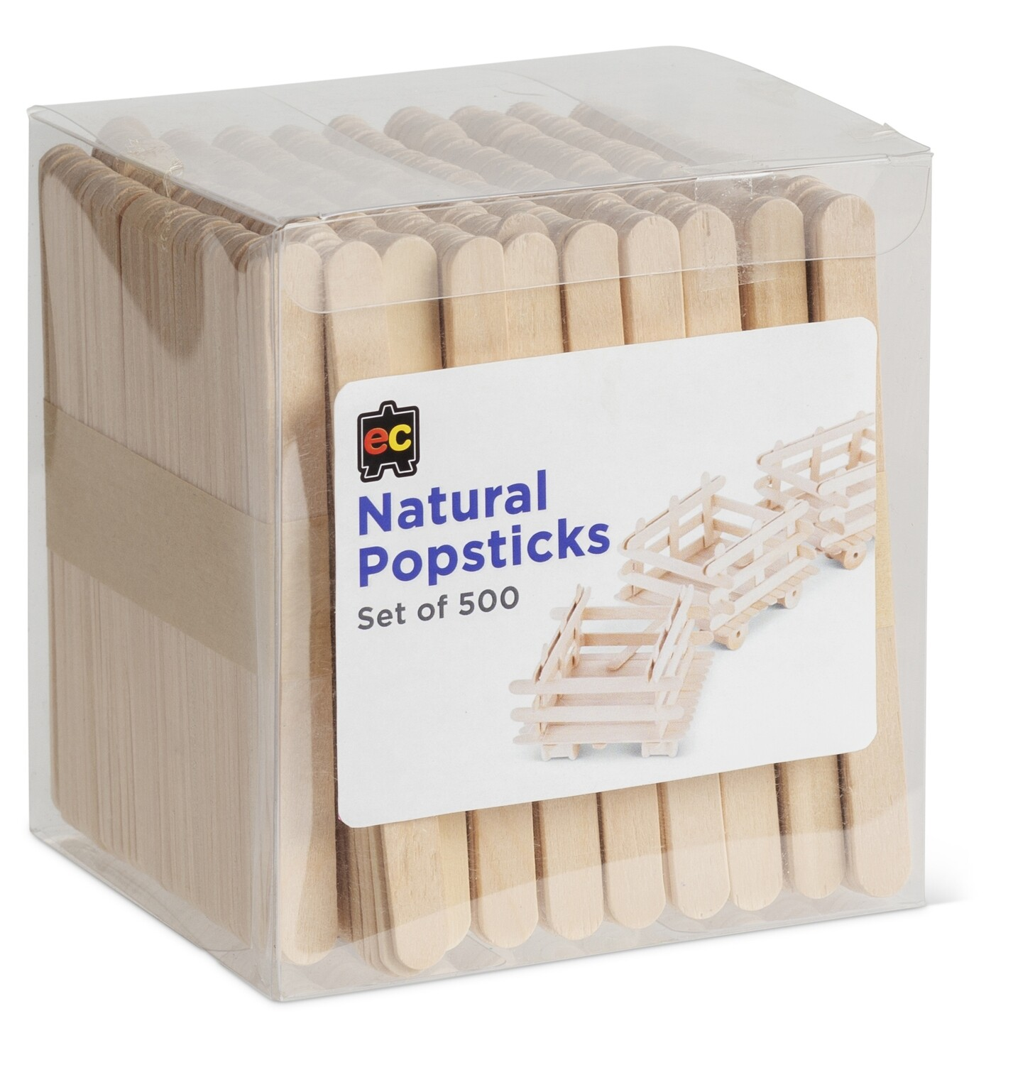 Popsticks Natural Packet 500