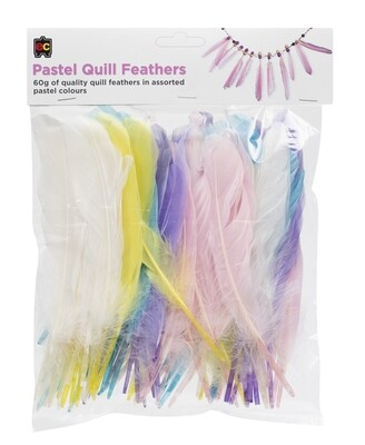 Quill Feathers Pastel 60g
