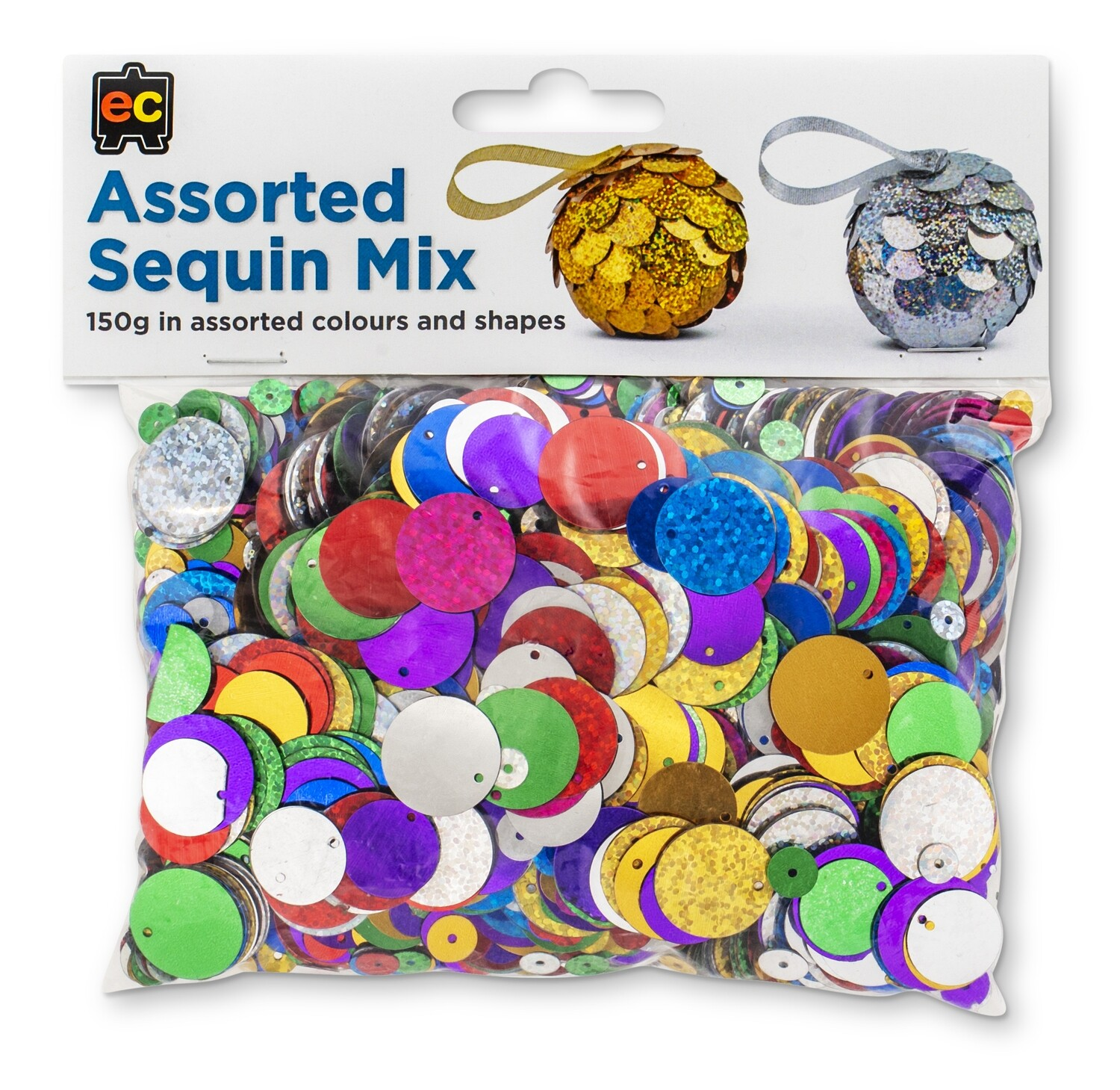 Sequins Embosses and normal Assorted Mix 150gm