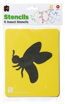 Insects Stencil Set of 6