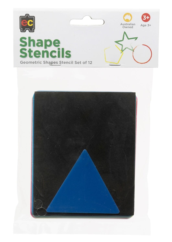 Geometric Shapes Stencil Set 12