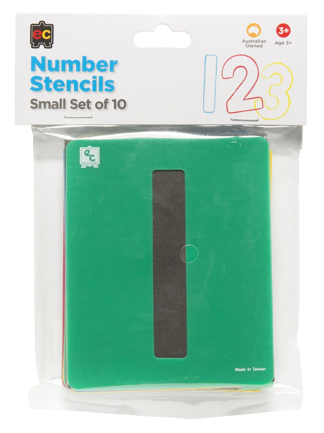 Numbers 0-9 Small Stencil Set 10