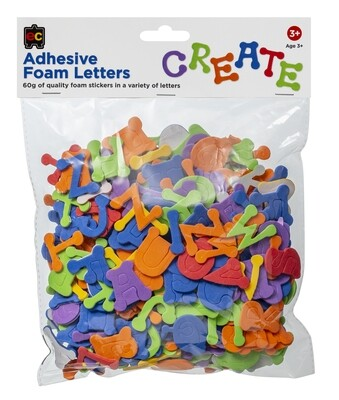 Adhesive Foam Letters 60g
