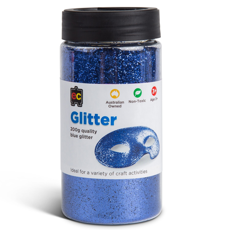 Glitter 200g Jar Blue