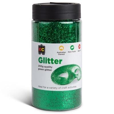 Glitter 200g Jar Green