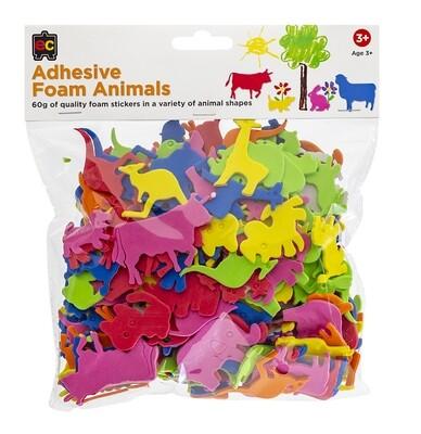 Adhesive Foam Animals 60g