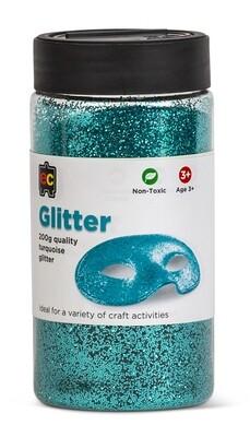 Glitter 200g Jar Turquoise