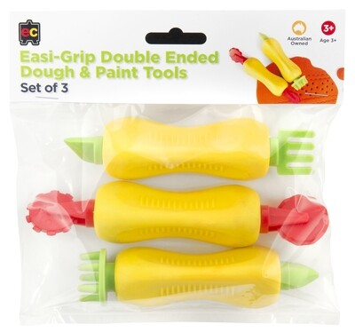 Easy-Grip Double Ended Dough & Paint Tolls